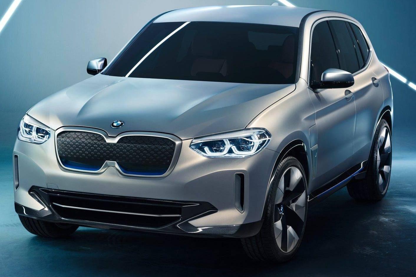 BMW iX3 Dianteira Estática
