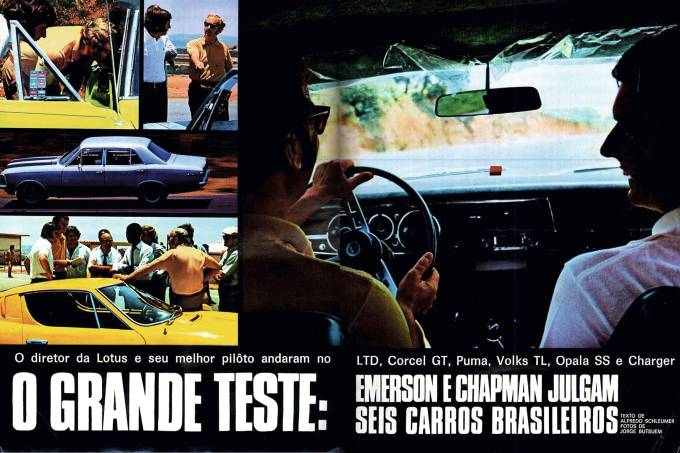 Grandes Comparativos: Corcel GT x Charger RT x LTD Landau x Puma 1800 x Opala SS x Volks TL