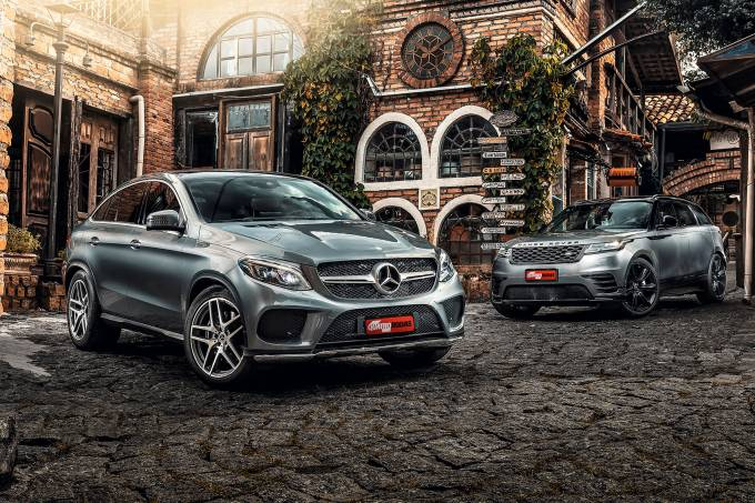 Comparativo: Mercedes GLE x Range Rover Velar