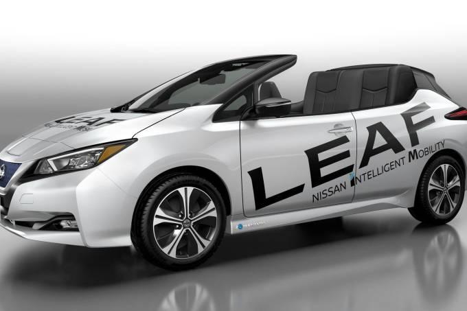 Nissan Leaf Conversível