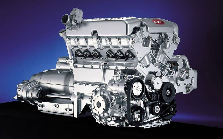 bugatti motor w18