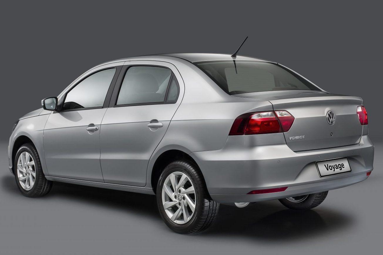 Volkswagen Voyage 2019 Exterior Traseira Estática