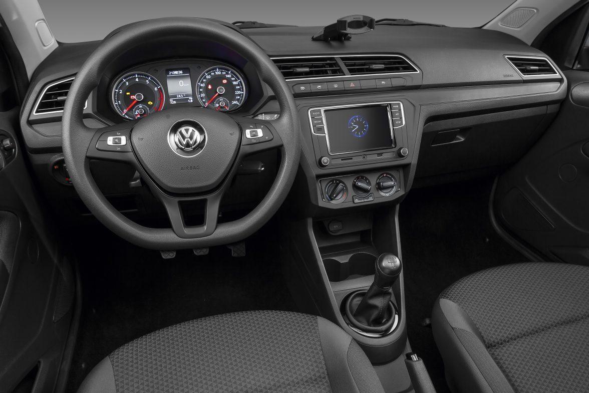 Volkswagen Gol Voyage 2019 Interior