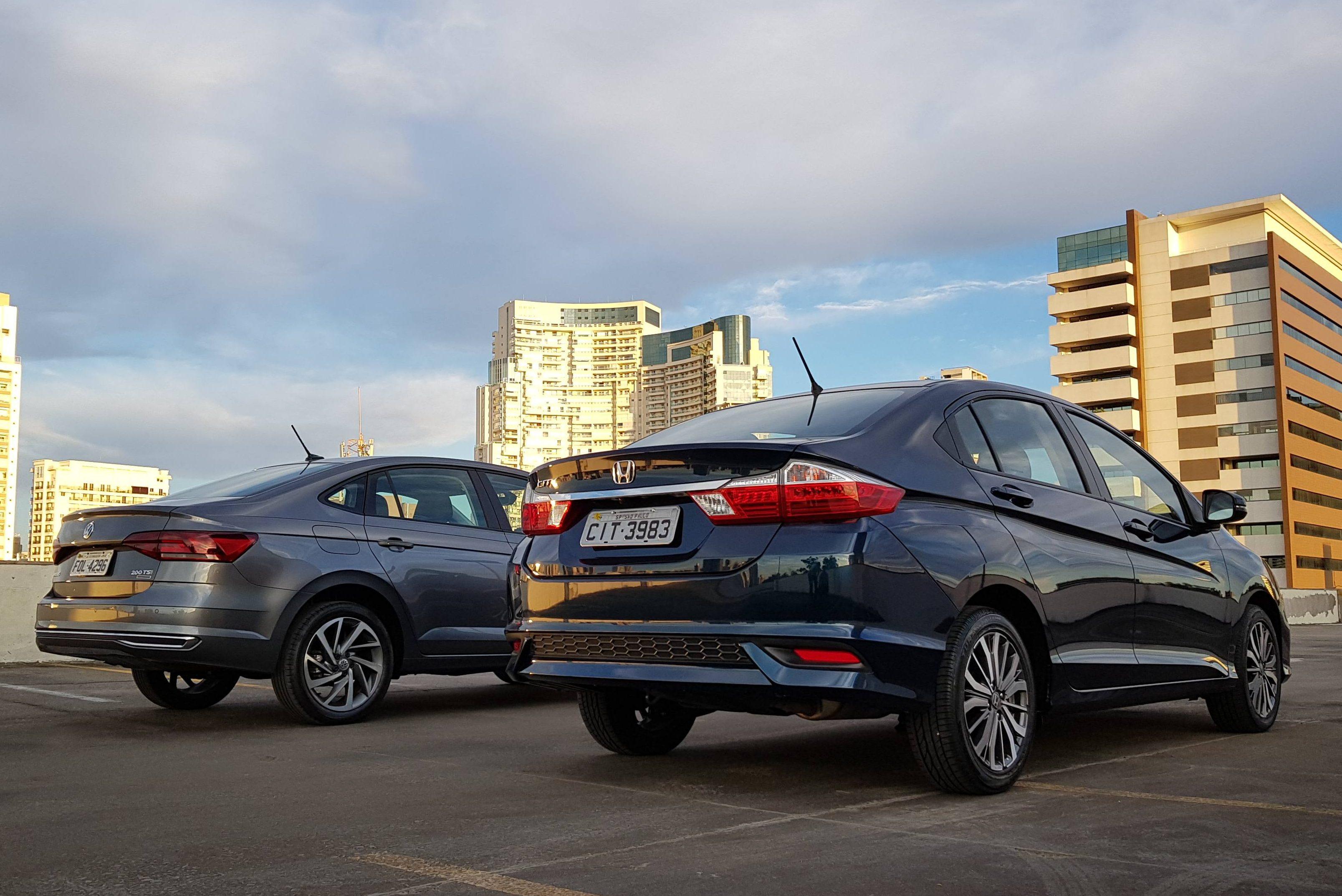 Honda City VW Virtus Comparativo