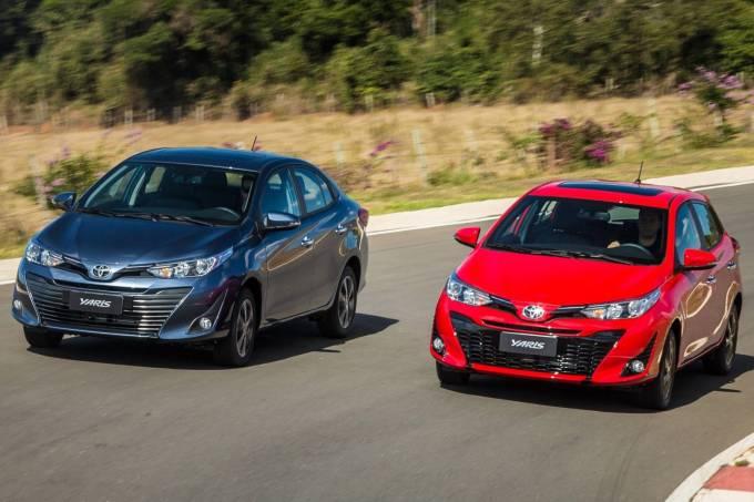 20. Novo Toyota Yaris 2019