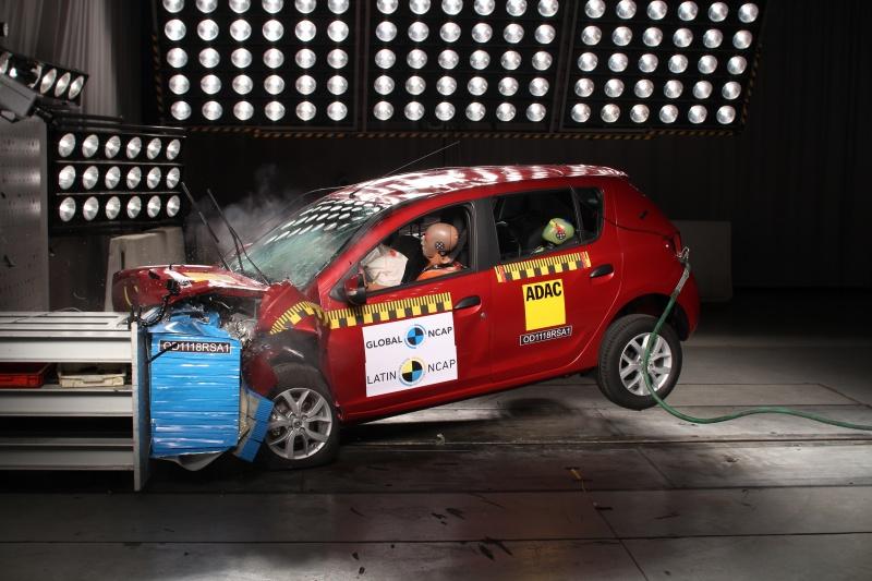 Renault Sandero - Latin NCAP