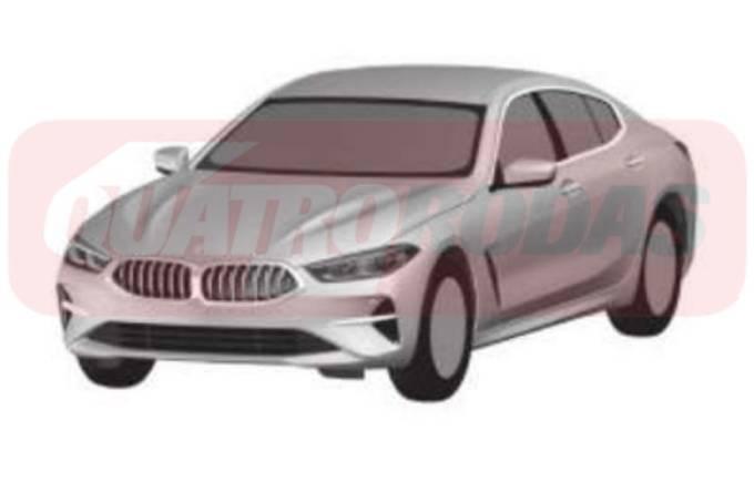 BMW Série 8 GranCoupe QR