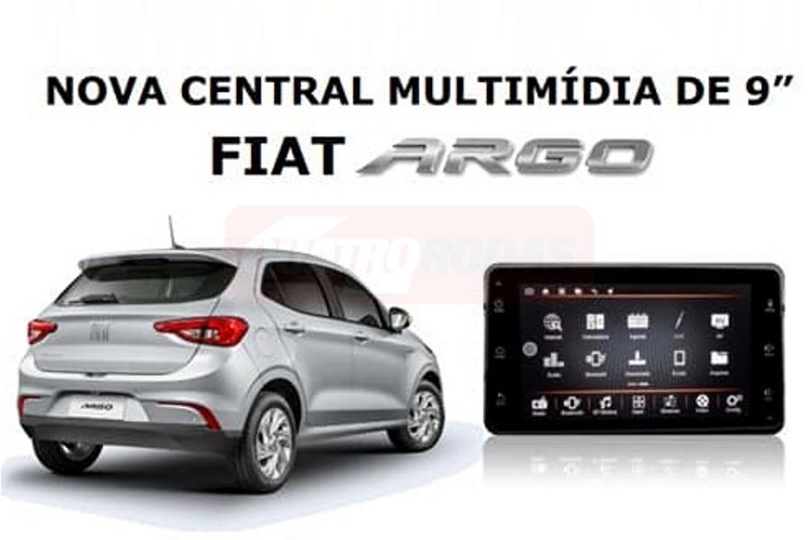 Fiat Argo 9 polegadas