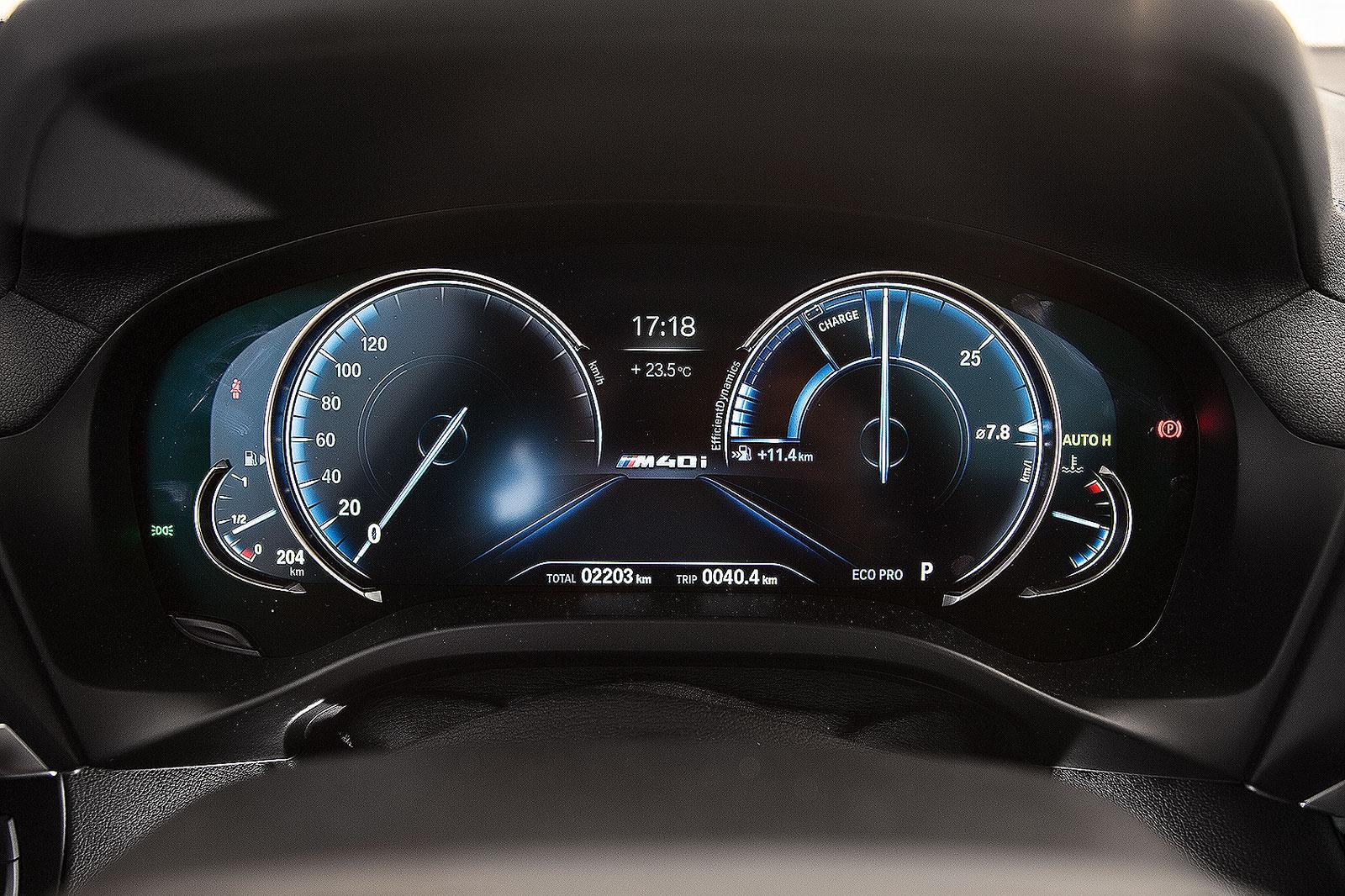 Velocímetro do BMW X3