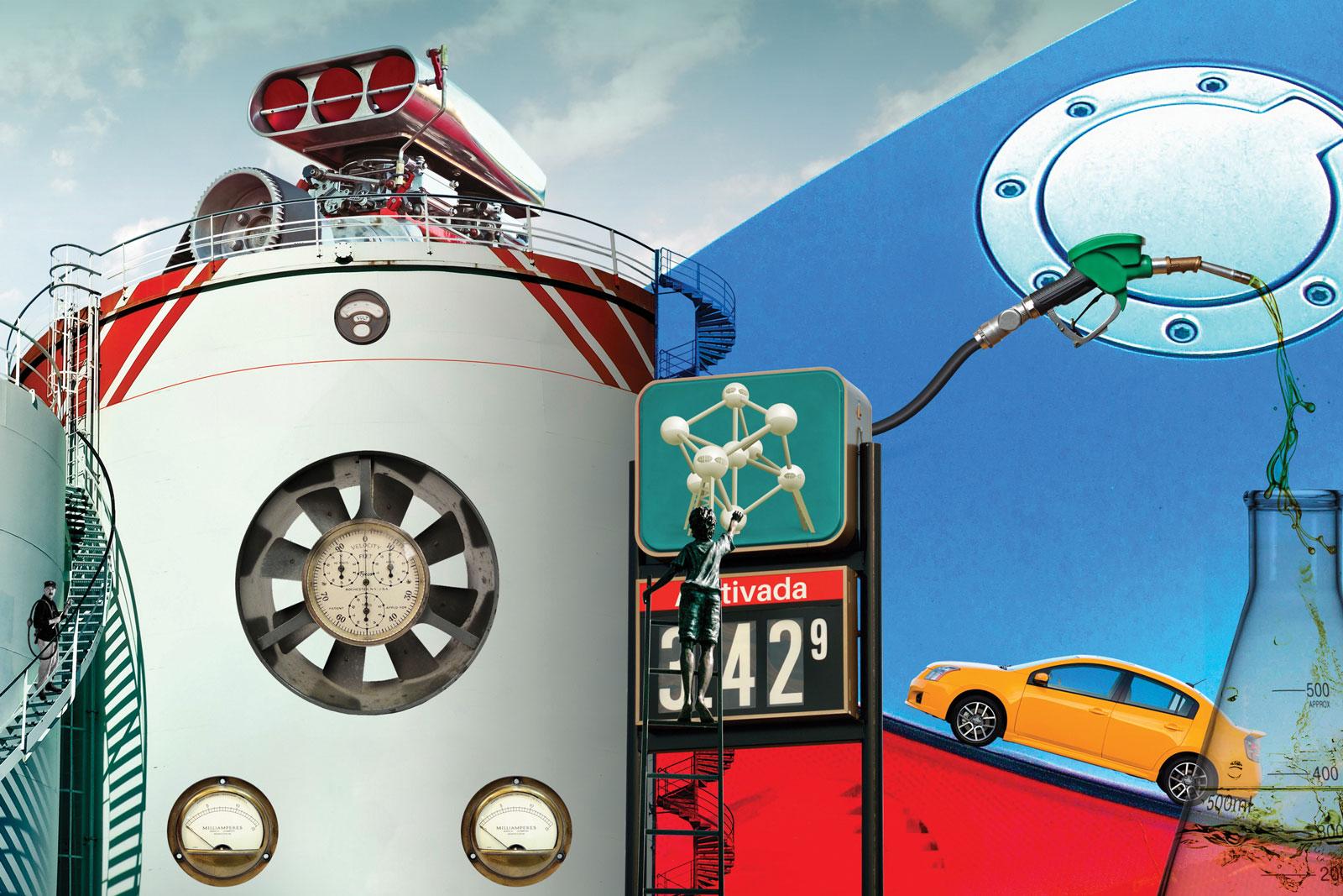 Reportagem tipos de gasolina