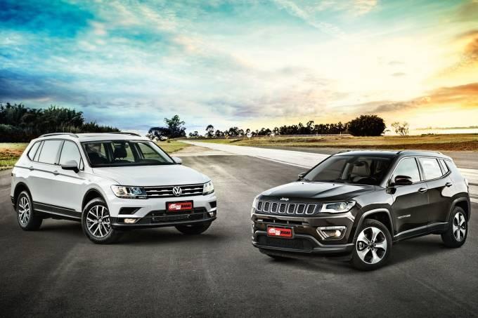 Jeep Compass x VW Tiguan