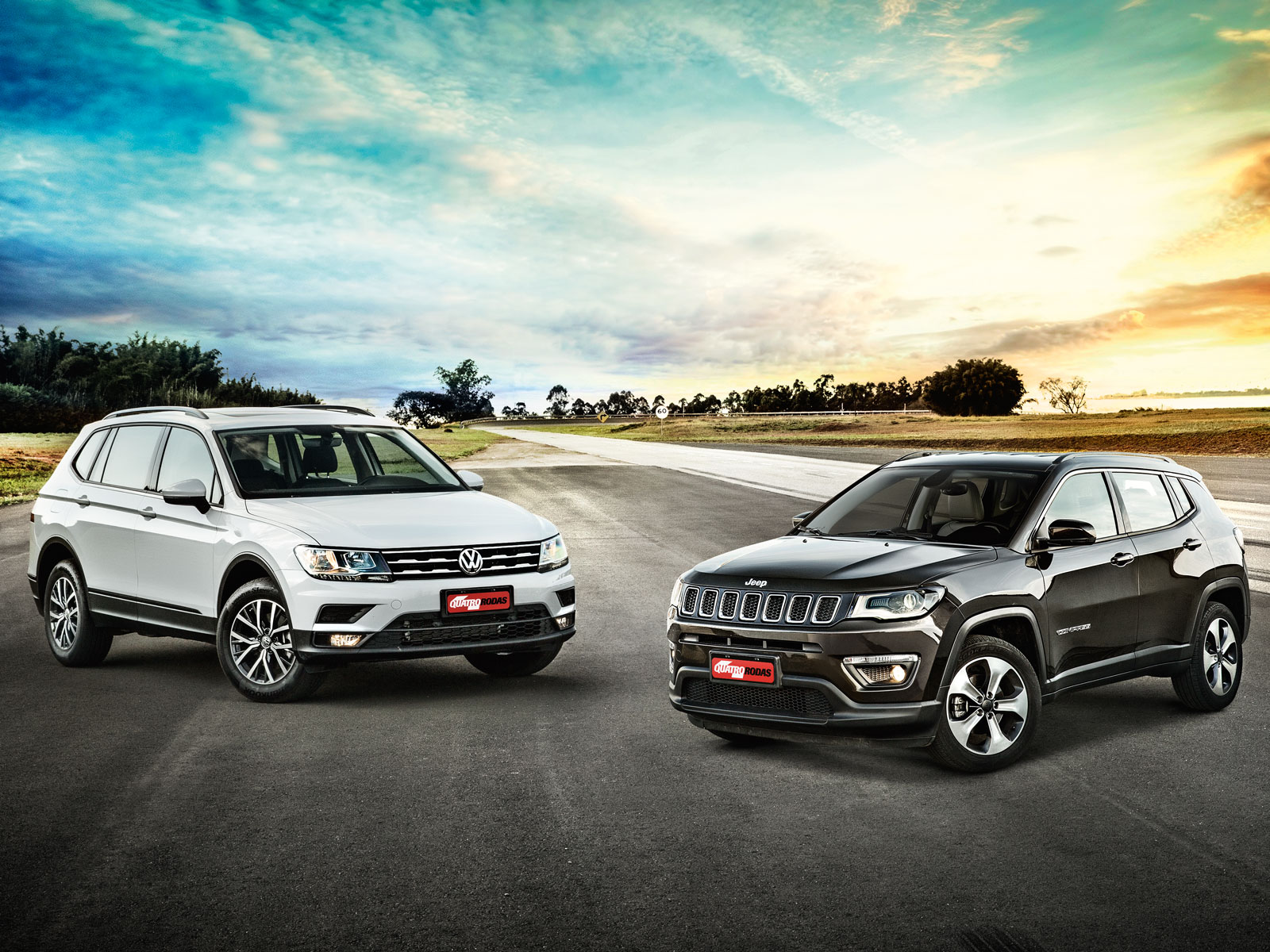 Jeep Compass x VW Tiguan