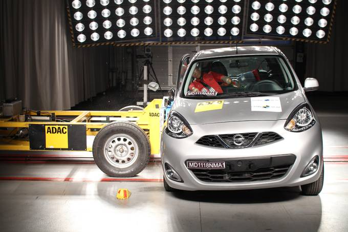 Nissan March Latin NCAP