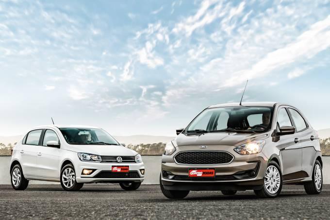 Ford Ka x VW Gol