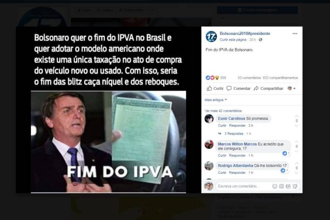 Bolsonaro facebook