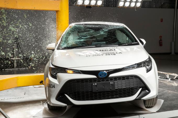 Toyota Corolla Impacto Lateral