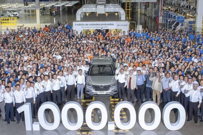 Fábrica Hyundai Piracicaba 1 milhão