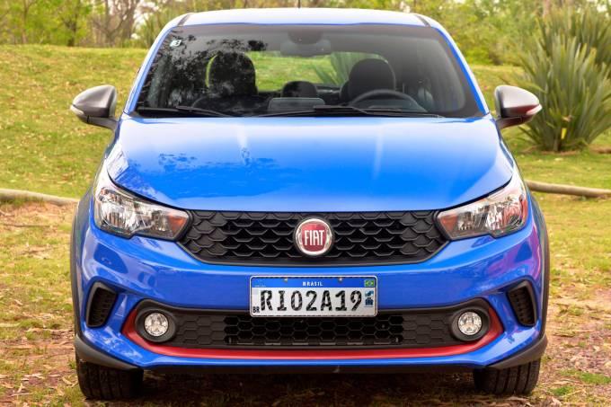Fiat Argo Placa