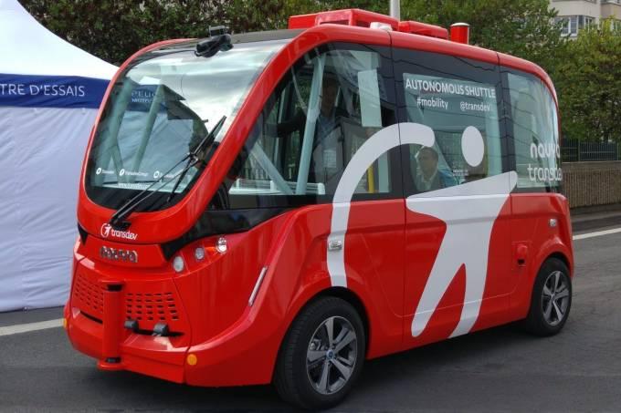 Navya Trapizio Ônibus Autônomo