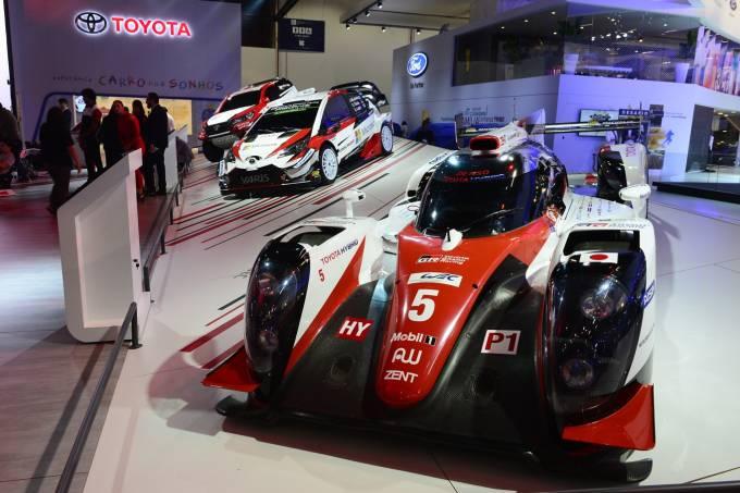 Salão do Automóvel Toyota