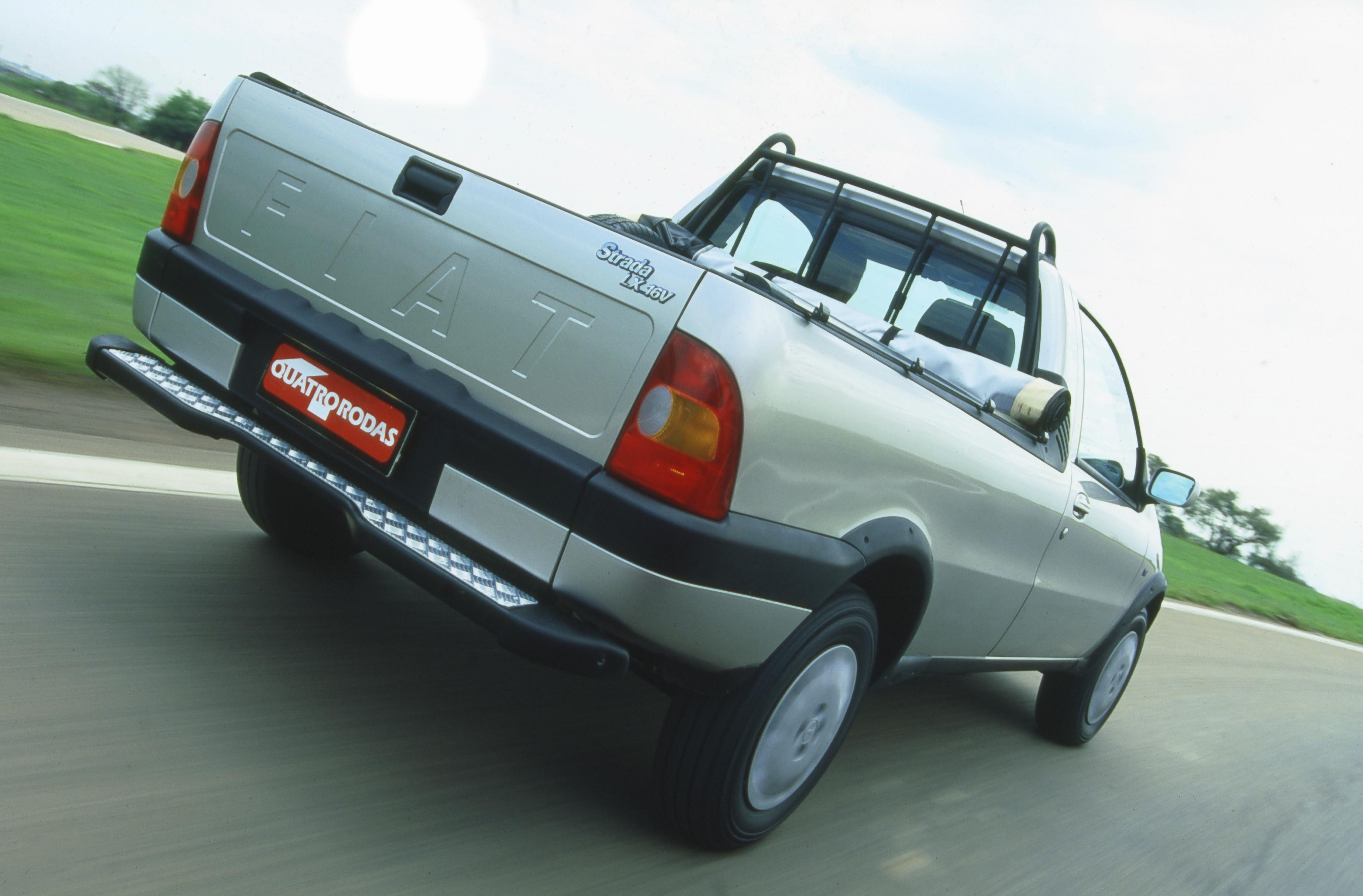 Strada LX 1.6 16V original tinha 106 cv e 15,1 mkgf de torque