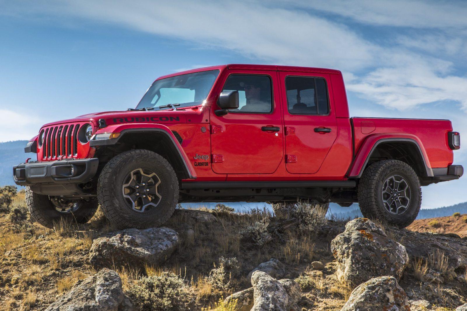Jeep Gladiator Nova Picape Baseada No Wrangler E Revelada Nos
