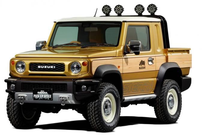 Suzuki Jimny Sierra Pickup Style Concept