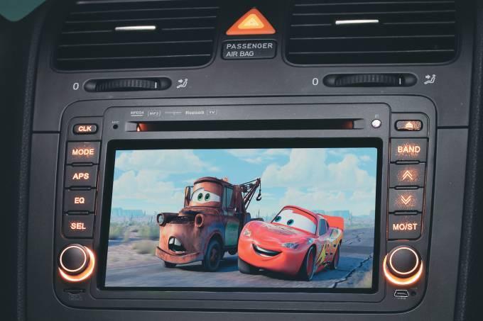 Auto Serviço DVD Player