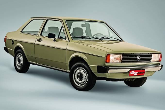 Automóvel Voyage, da Volkswagen, 1981.