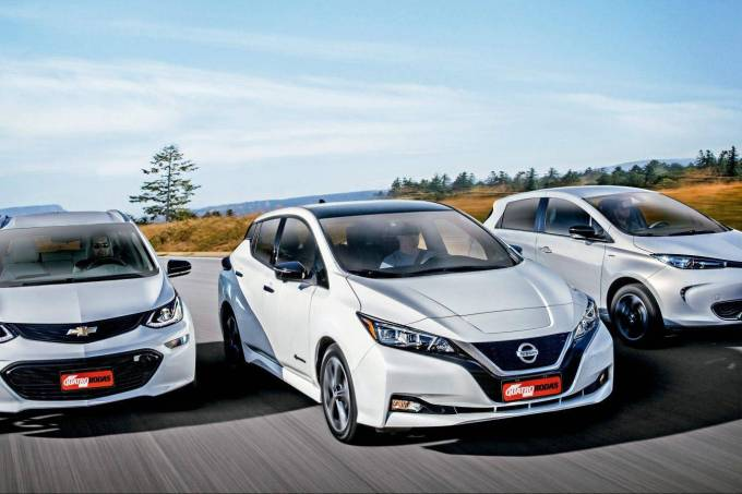 Chevrolet Bolt vs. Nissan Leaf vs. Renault Zoe 16:9