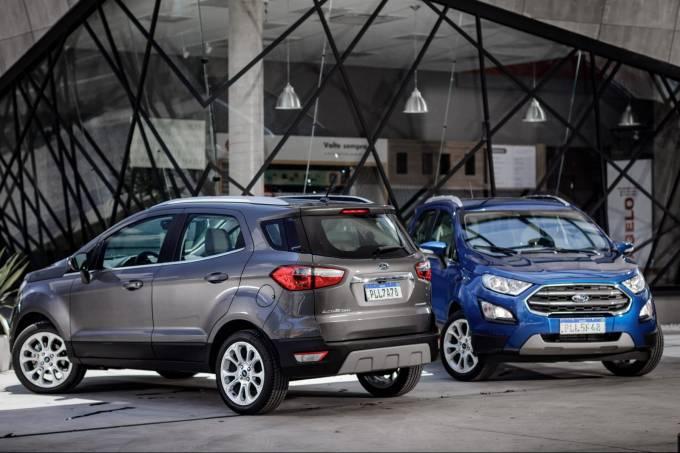 Ford EcoSport Titanium 1.5 2020 run flat