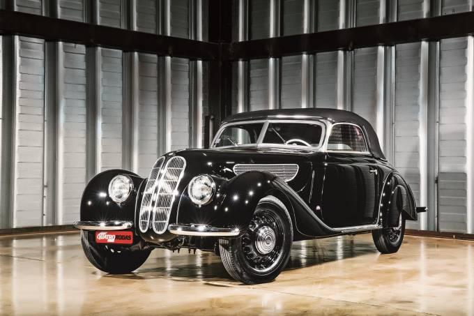 Automóvel 327, da BMW, 1938.