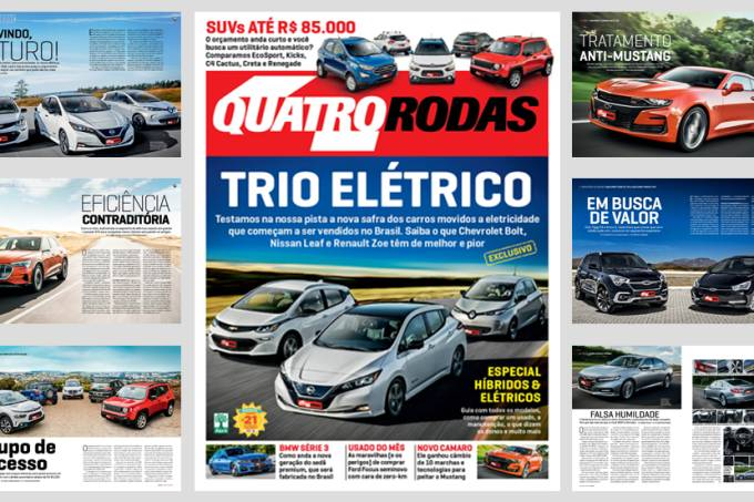 Arte revista Quatro Rodas edição 717