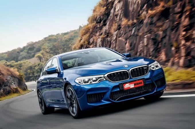 Dianteira BMW M5