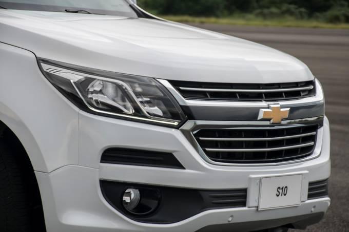 Chevrolet S10 2017 frente