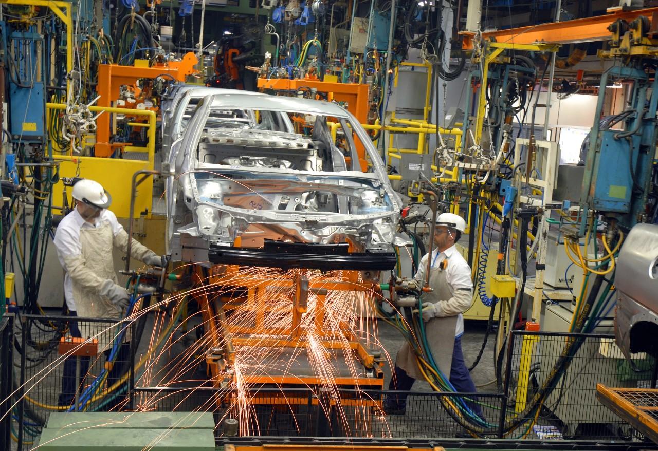 Fábrica da GM em São Caetano do Sul (SP)