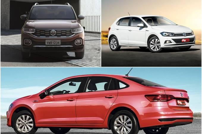 VW T-Cross, Polo e Virtus