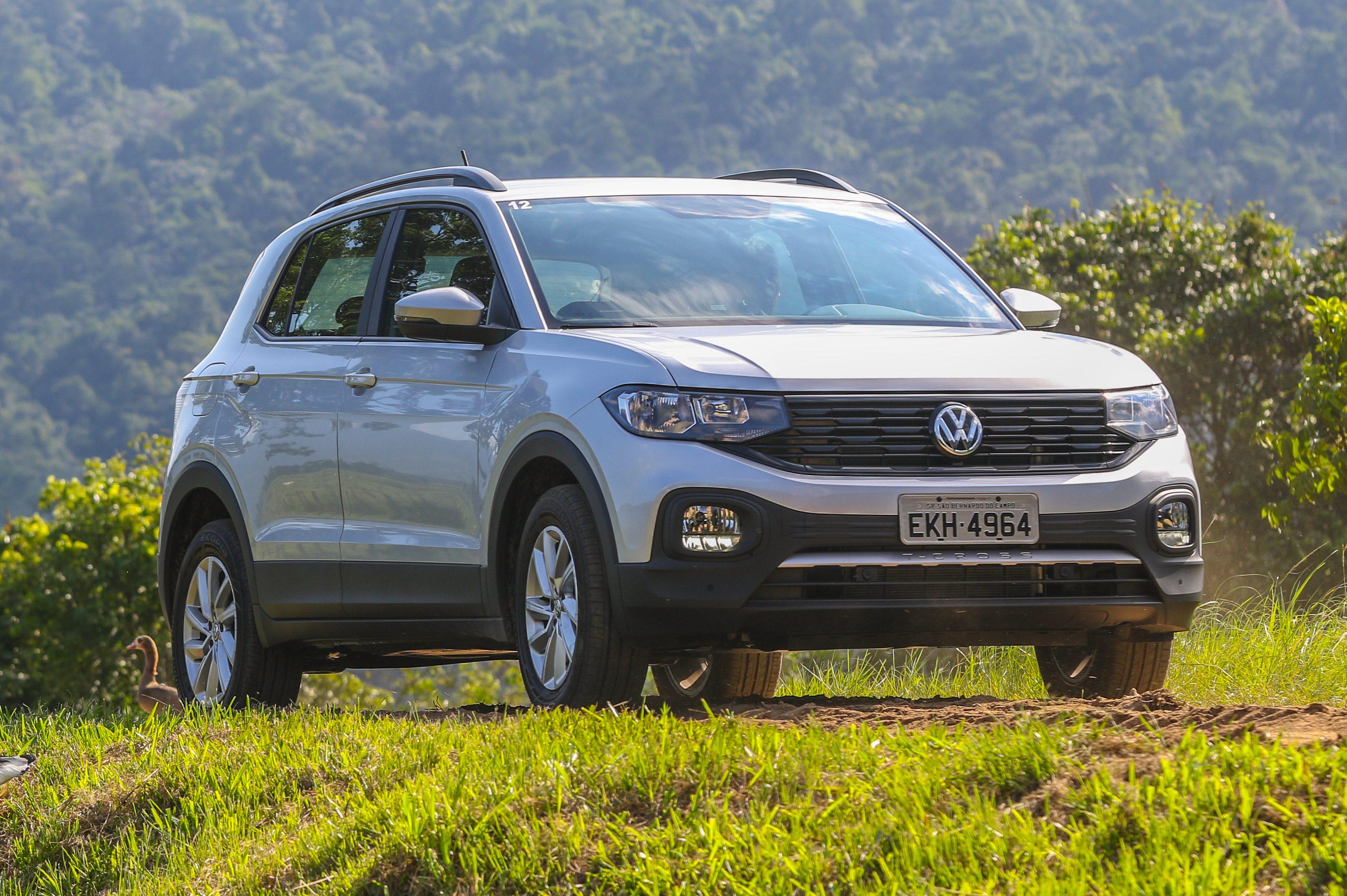 VW T-Cross despenca nas vendas da primeira quinzena de setembro