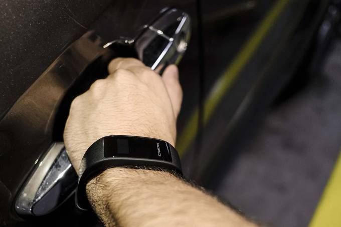 Key Band Chave Inteligente Hyundai Creta