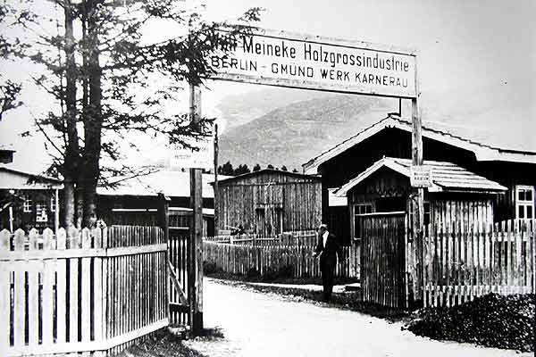 O escritório de design da Porsche chegou a operar em uma marcenaria entre 1944 e 1945
