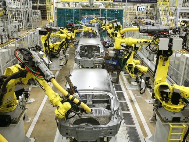 Fábrica da Hyundai em Piracicaba (SP)