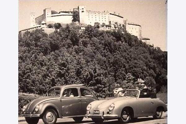 As operações de venda de Volkswagen e Porsche na Áustria vingou logo após a morte de Anton