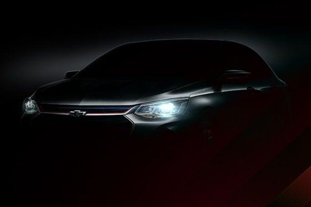 Chevrolet Prisma Teaser