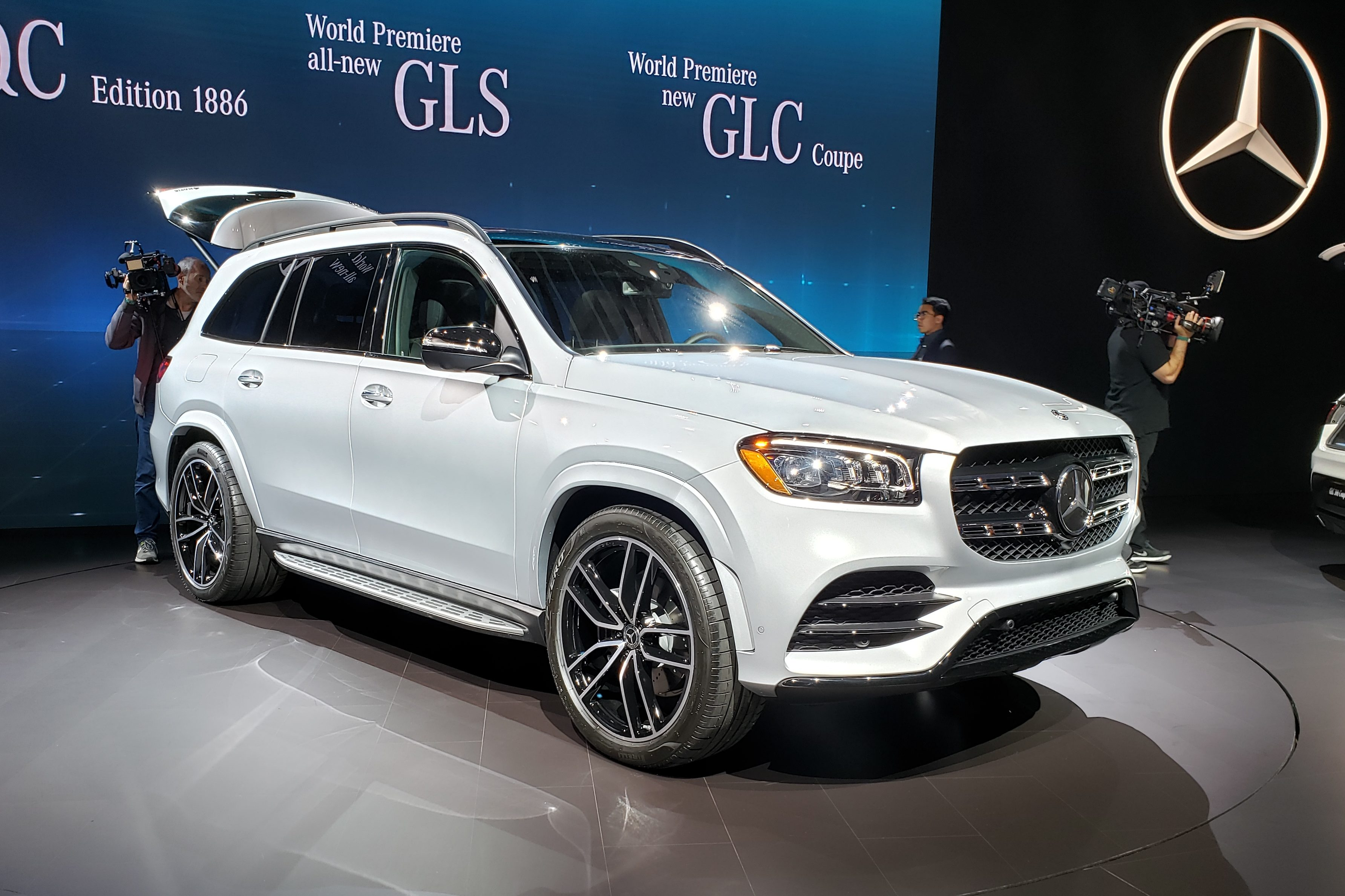 Mercedes Gls Ultratecnologico Suv Gigante Tem Ate Modo Lava A Jato Quatro Rodas