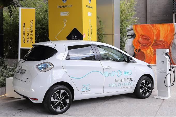 Renault Zoe compartilhamento