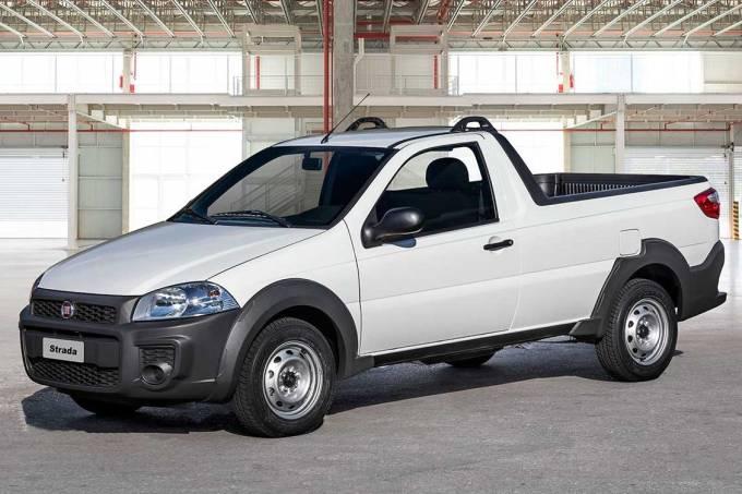 Fiat Strada 2020 Dianteira 3-4 Estática