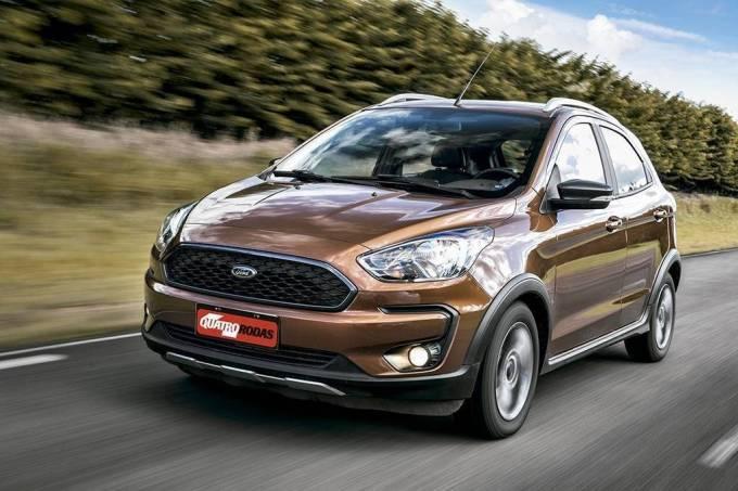 Comparativo: Fiat Argo Trekking, Ford Ka Freestyle e Toyota Yaris X-Way