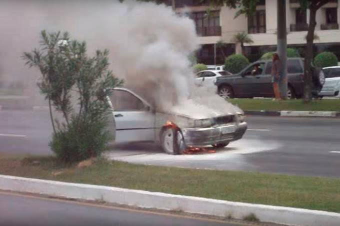 Incêndio Fiat Tipo