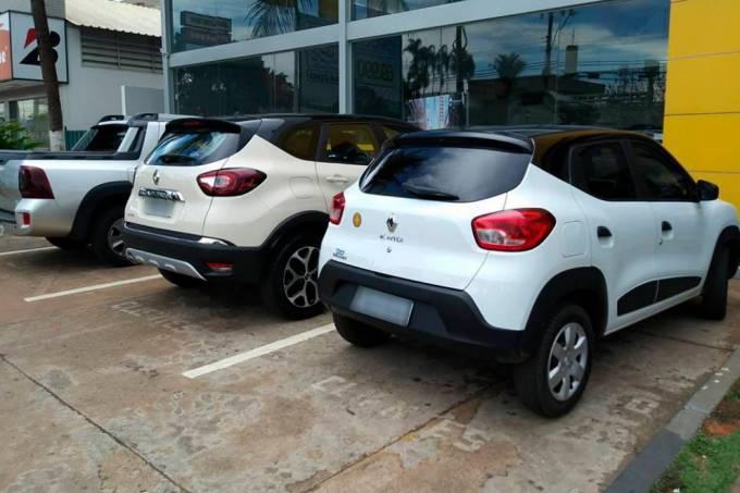 Renault Kwid e Captur teto bitom