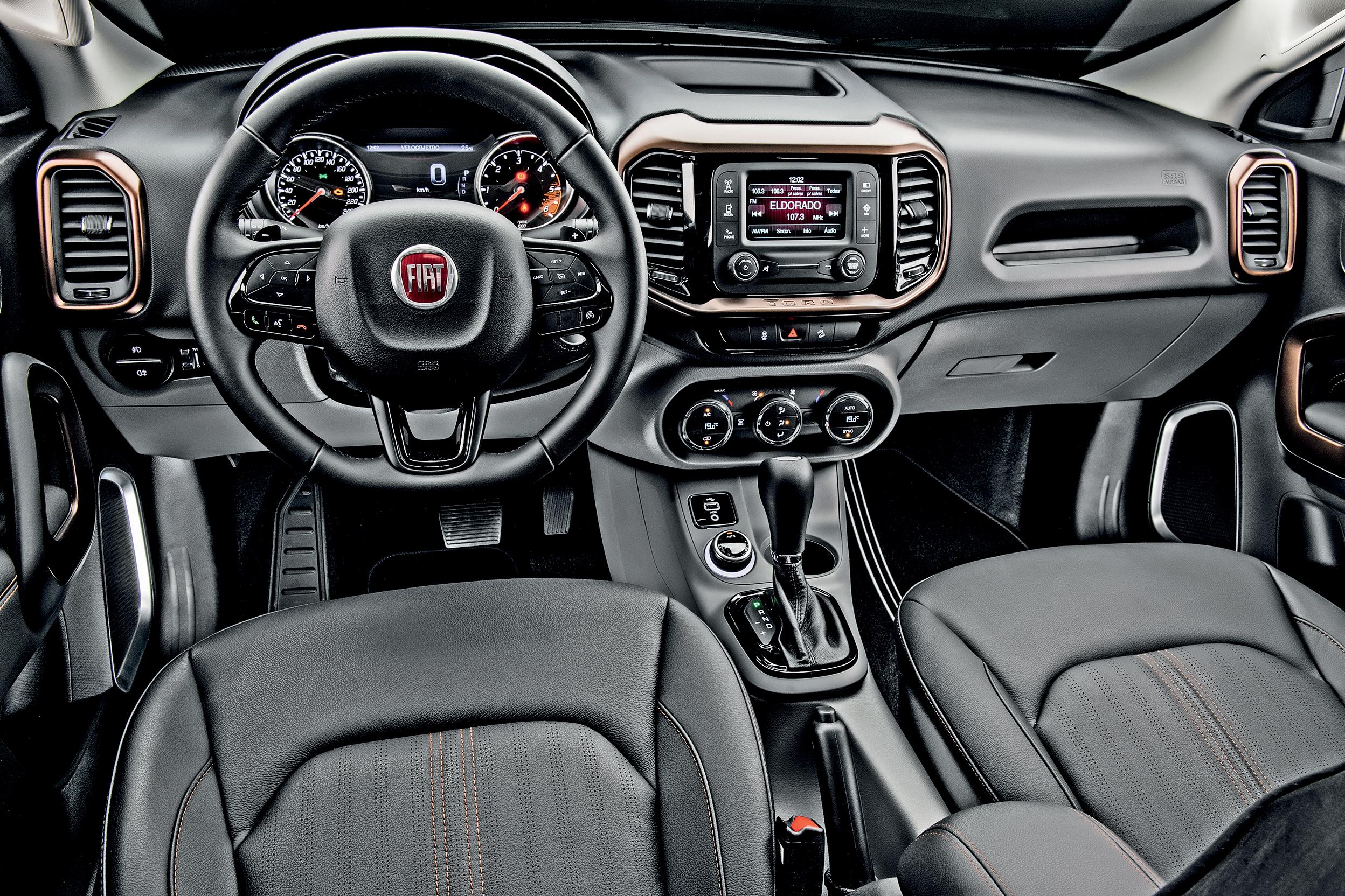 Painel - Fiat Toro 2016